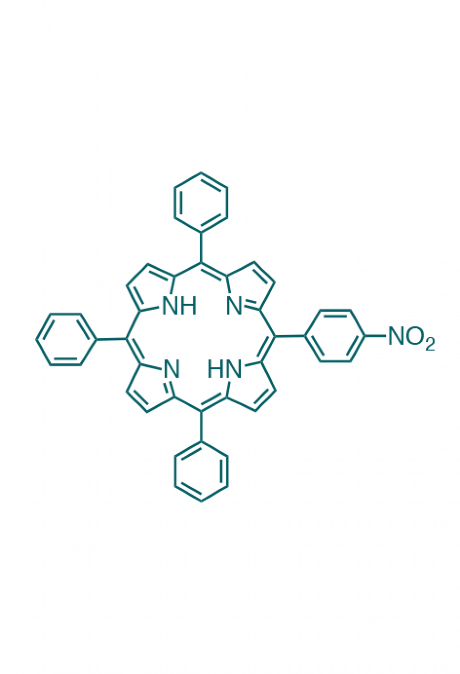 5-(4-nitrophenyl)-10,15,20-(triphenyl)porphyrin