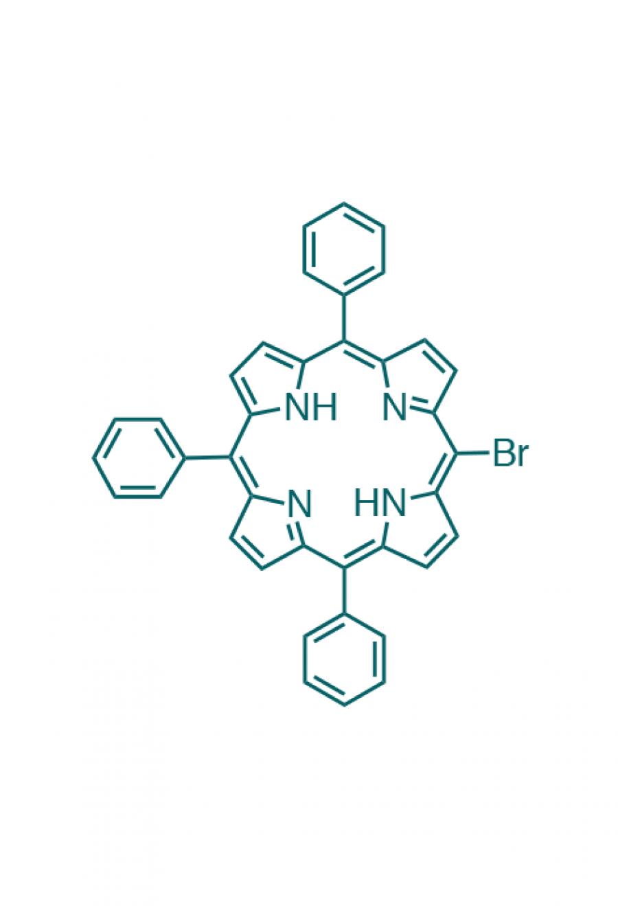 5-(bromo)-10,15,20-(triphenyl)porphyrin