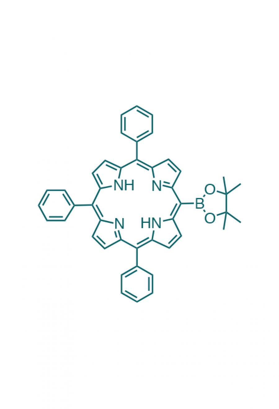 5,10,15-(triphenyl)-20-(4,4,5,5-tetramethyl-1,3,2-dioxaborolan-2-yl)porphyrin