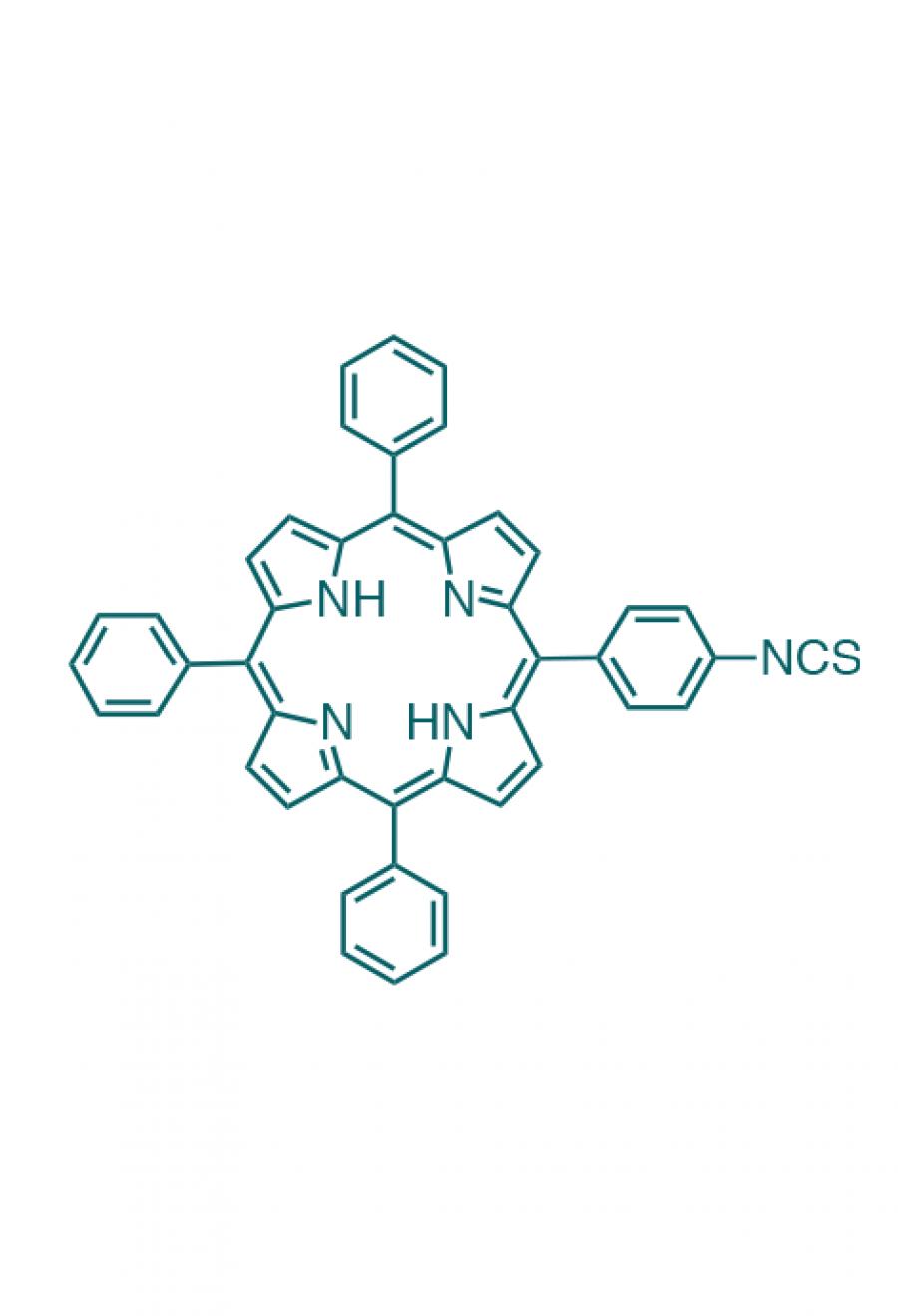 5-(4-isothiocyanatophenyl)-10,15,20-(triphenyl)porphyrin