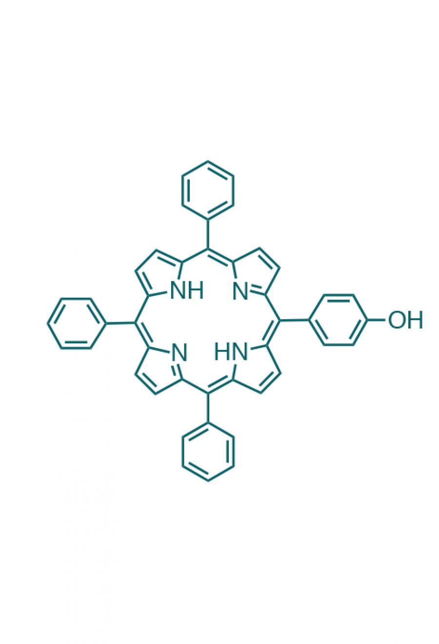 5-(4-hydroxyphenyl)-10,15,20-(triphenyl)porphyrin