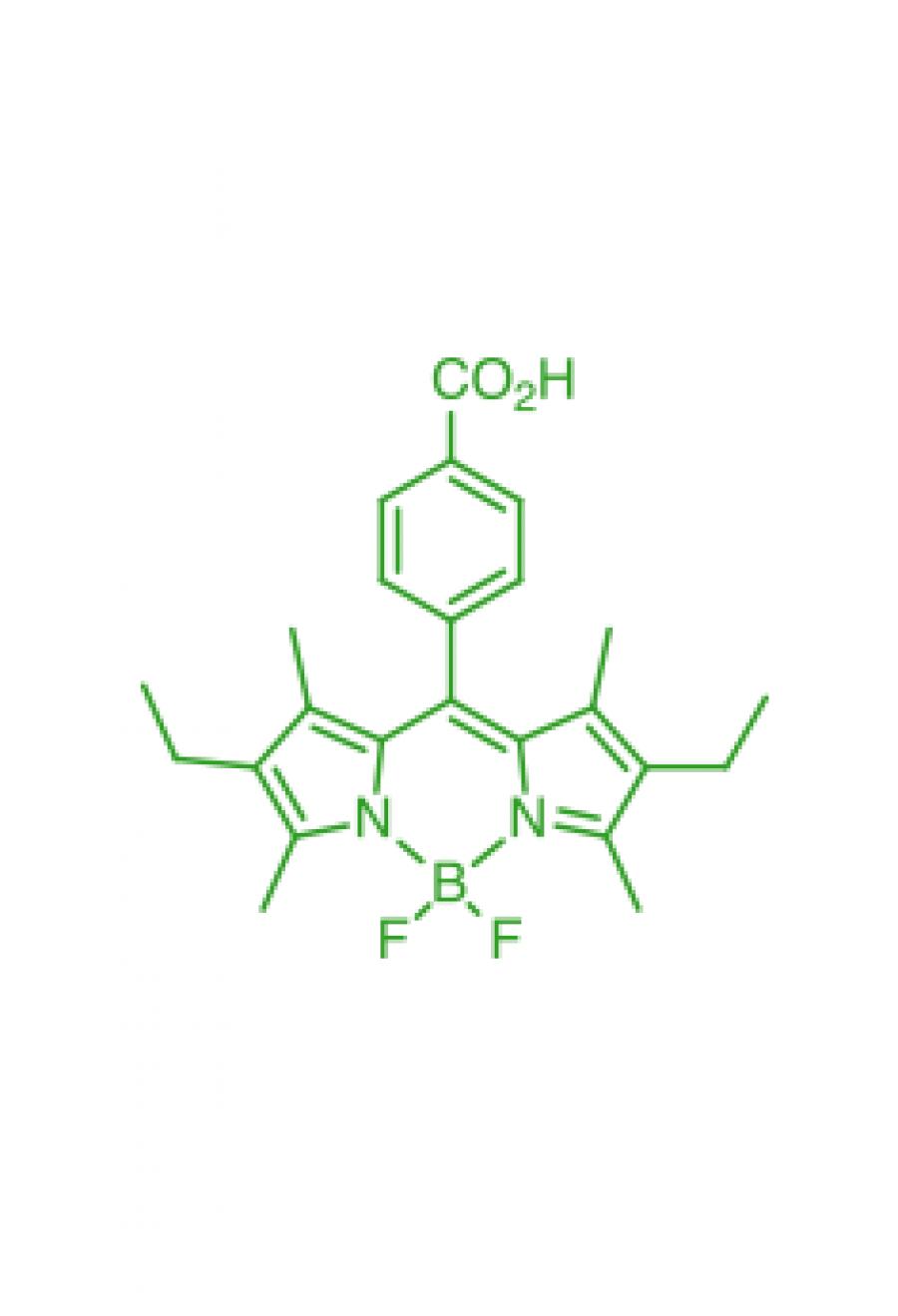 1,3,5,7-tetramethyl-2,6-diethyl-8-(4-carboxyphenyl)BODIPY