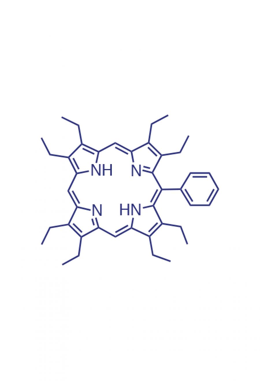5-(phenyl)-2,3,7,8,12,13,17,18-(octaethyl)porphyrin