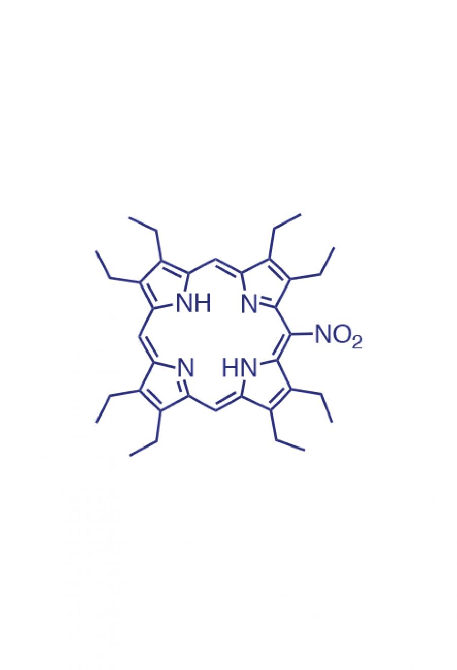 5-(nitro)-2,3,7,8,12,13,17,18-(octaethyl)porphyrin