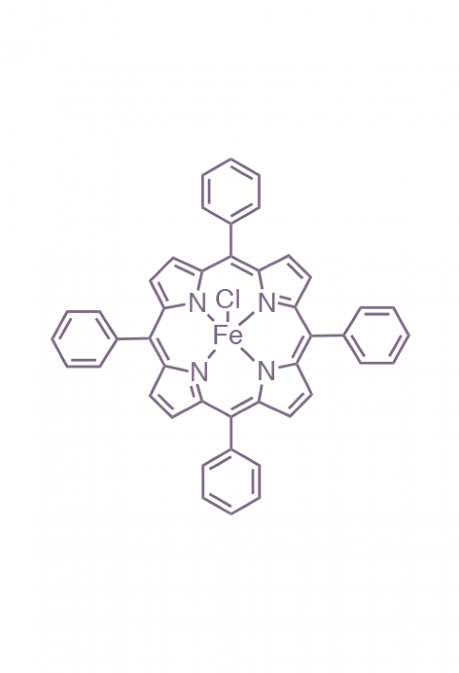 iron(III) 5,10,15,20-(tetraphenyl)porphyrin chloride