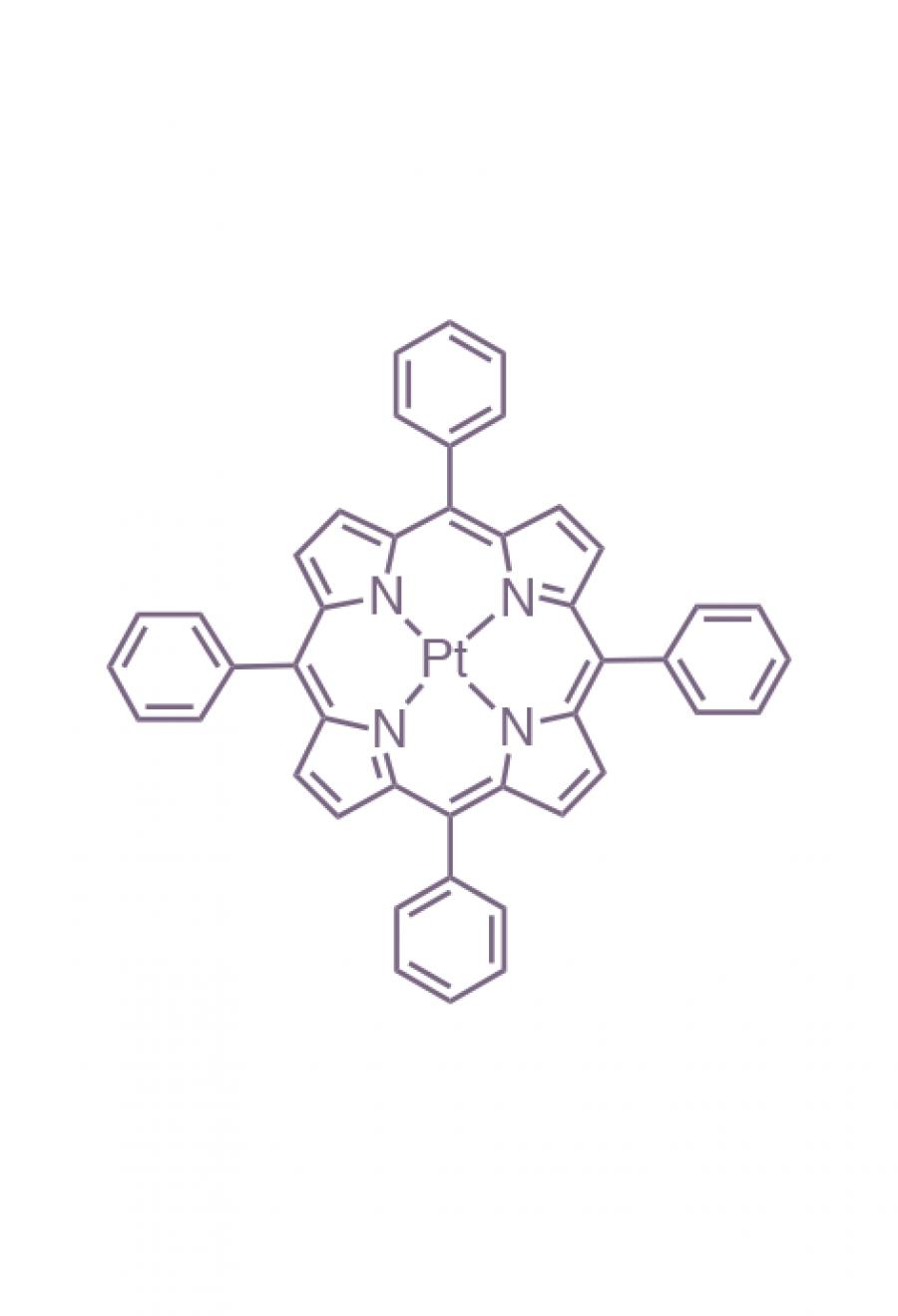 platinum(II) 5,10,15,20-(tetraphenyl)porphyrin