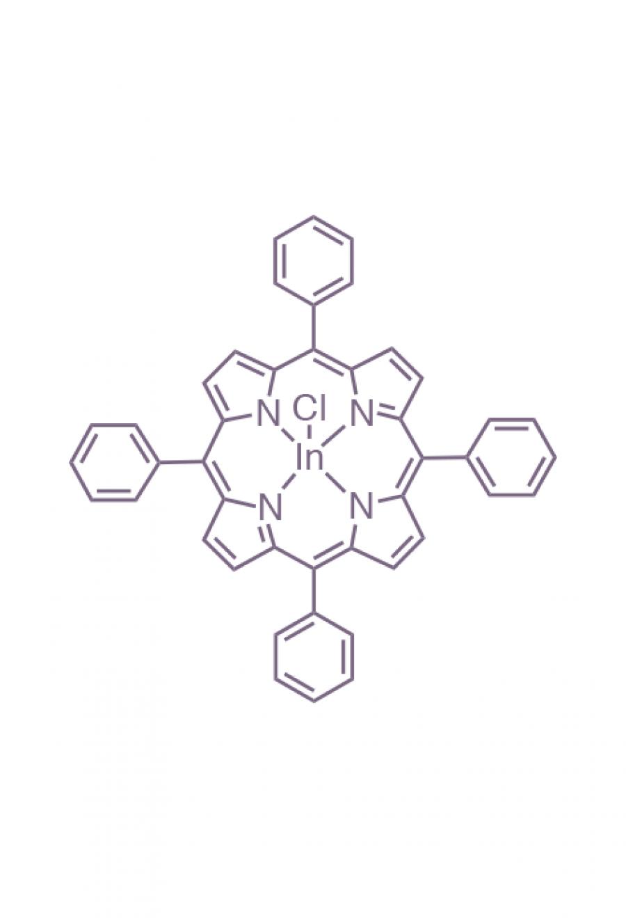 indium(III) 5,10,15,20-(tetraphenyl)porphyrin chloride