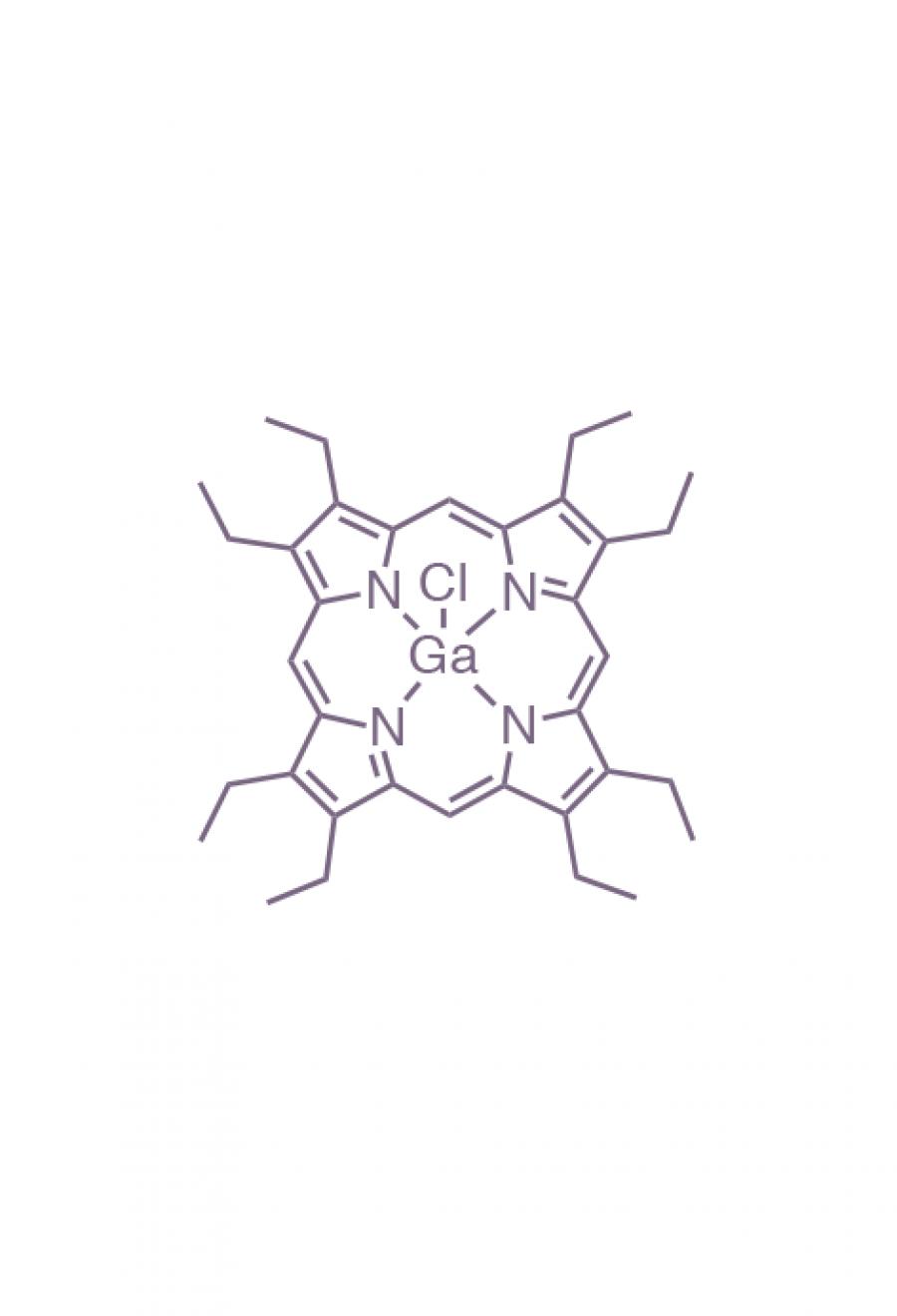 gallium(III) 2,3,7,8,12,13,17,18-(octaethyl)porphyrin chloride