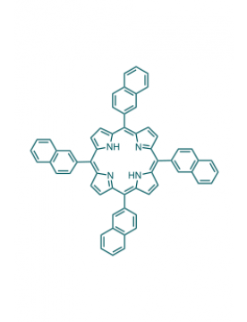 5,10,15,20-(tetra-2-naphthalenyl)porphyrin