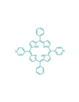 5,15-(diphenyl)-10,20-(di-4-pyridyl)porphyrin