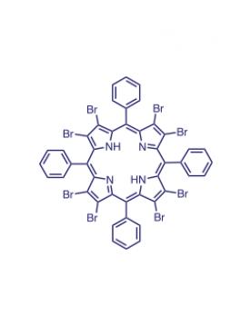 2,3,7,8,12,13,17,18-(octabromo)-5,10,15,20-(tetraphenyl)porphyrin