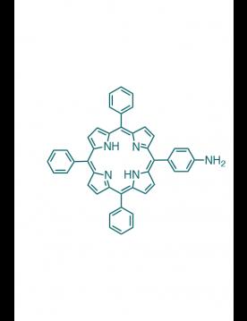 5-(4-aminophenyl)-10,15,20-(triphenyl)porphyrin