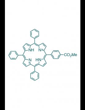 5-(4-methoxycarbonylphenyl)-10,15,20-(triphenyl)porphyrin