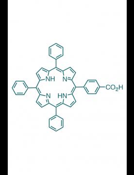 5-(4-carboxyphenyl)-10,15,20-(triphenyl)porphyrin