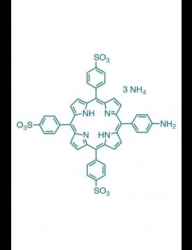 5-(4-aminophenyl)-10,15,20-(tri-4-sulfonatophenyl)porphyrin triammonium