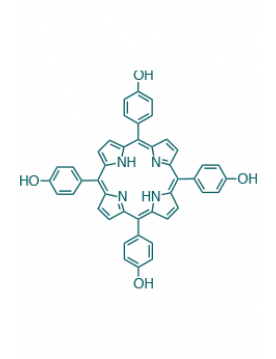 5,10,15,20-(tetra-4-hydroxyphenyl)porphyrin