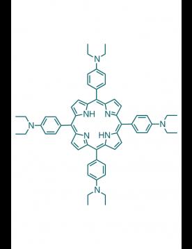 5,10,15,20-(tetra-N,N-diethyl-4-aminophenyl)porphyrin