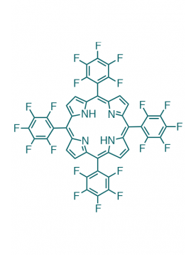 5,10,15,20-(tetrapentafluorophenyl)porphyrin