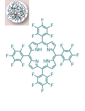 Nano Chitosan / 5,10,15,20-(Tetrapentafluorophenyl)porphyrin