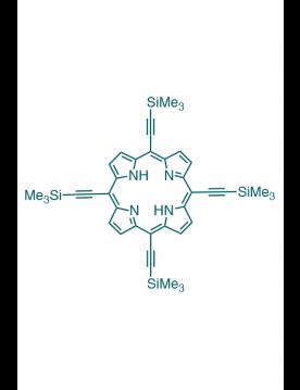5,10,15,20-(tetra-trimethylsilylethynyl)porphyrin