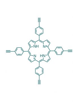 5,10,15,20-(tetra-4-ethynylphenyl)porphyrin