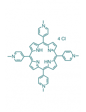 5,10,15,20-(tetra-N-methyl-4-pyridyl)porphyrin tetrachloride