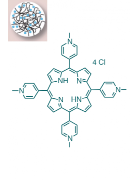 Nano Chitosan / 5,10,15,20-(Tetra-N-methyl-4-pyridyl)porphyrin tetrachloride