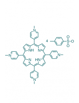 5,10,15,20-(tetra-N-methyl-4-pyridyl)porphyrin tetratosylate