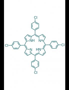 5,10,15,20-(tetra-4-chlorophenyl)porphyrin