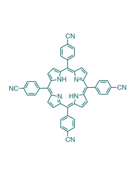 5,10,15,20-(tetra-4-cyanophenyl)porphyrin
