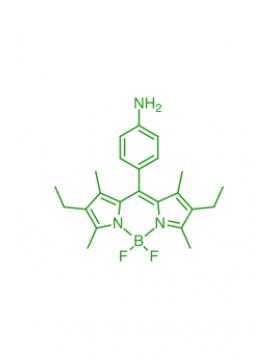 1,3,5,7-tetramethyl-2,6-diethyl-8-(4-aminophenyl)BODIPY