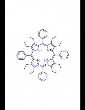 2,3,7,8,12,13,17,18-(octaethyl)-5,10,15,20-(tetraphenyl)porphyrin