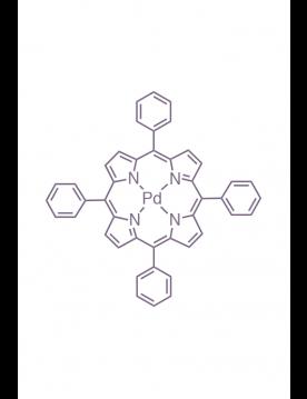 palladium(II) 5,10,15,20-(tetraphenyl)porphyrin