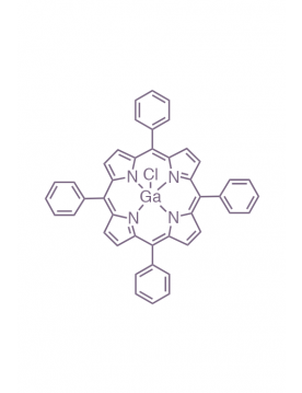 gallium(III) 5,10,15,20-(tetraphenyl)porphyrin chloride
