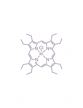 indium(III) 2,3,7,8,12,13,17,18-(octaethyl)porphyrin chloride