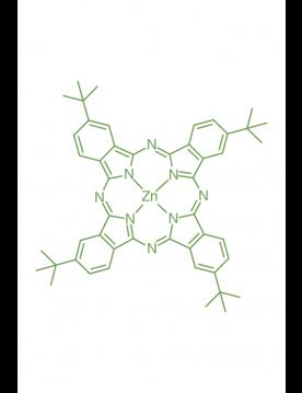 zinc(II) 2,9,16,23-(tetra-t-butyl)phthalocyanine