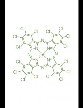 iron(II) 1,2,3,4,8,9,10,11,15,16,17,18,22,23,24,25-hexadeca(chloro)phthalocyanine
