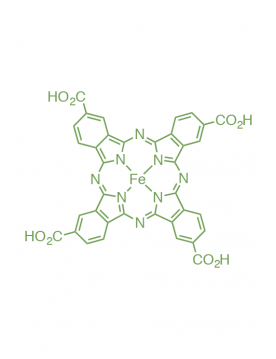 iron(II) 2,9,16,23-tetra(carboxy)phthalocyanine