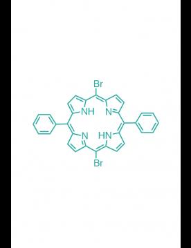 5,15-(diphenyl)-10,20-(dibromo)porphyrin