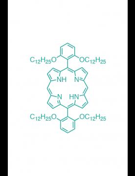 5,15-(di-2,6-dodecyloxyphenyl)porphyrin