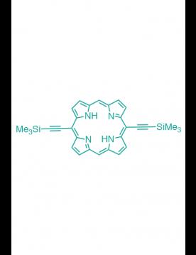 5,15-(di-trimethylsilylethynyl)porphyrin