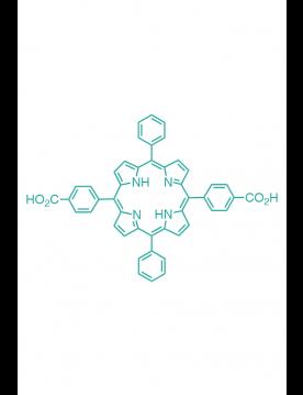 5,15-(di-4-carboxyphenyl)-10,20-(diphenyl)porphyrin